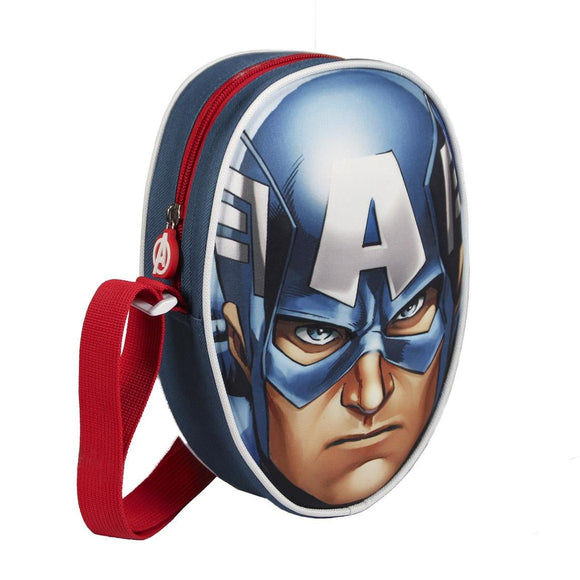 Marvel 3D Effect Captain America Bag