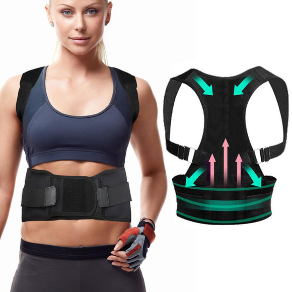 CHARMINER® Back Support Straight Posture Corrector