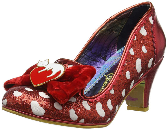 Irregular Choice Dream Lover Closed Toe Heels