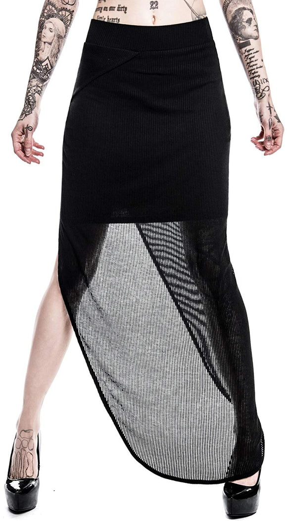Killstar - Women's Black Net Skirt