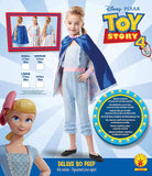 Official Disney Toy Story Bo Peep Girls Deluxe Costume