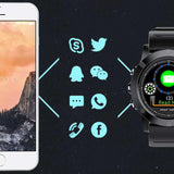 SPOVAN SW002 Waterproof Smart Watch Fitness Bracelet