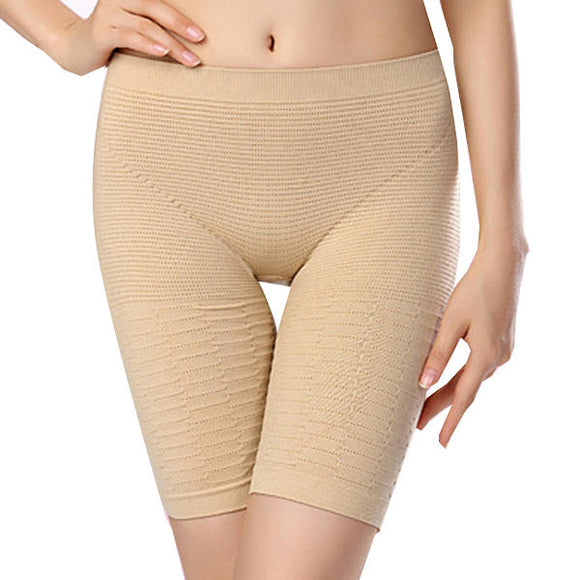 Women Sexy Leaking Butt Seamless Breathable Elastic Shapewear