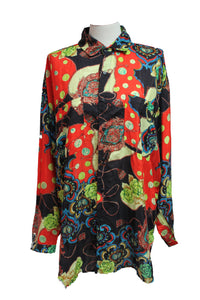 Dead Threads - Women's Multicolor Print Shirt