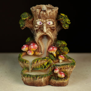 Fantasy Backflow Incense Burner - Magic Tree BACK01