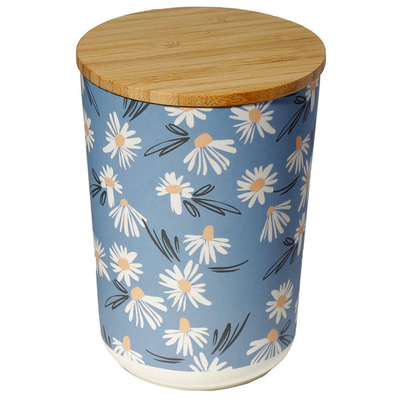 Pick of the Bunch Daisy Lane Bamboo Composite Medium Round Storage Jar BAMB225