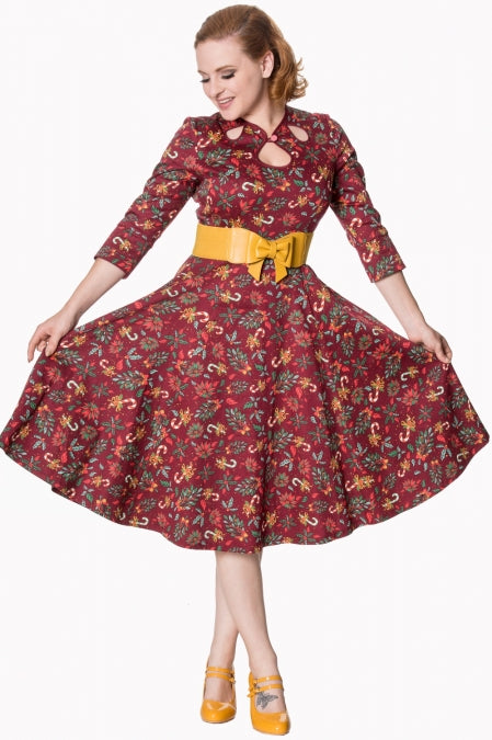 Banned Clothing - Women's Autumn Leaves Dress
