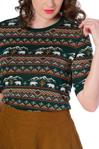 Banned Clothing - Christmas Bear Jumper