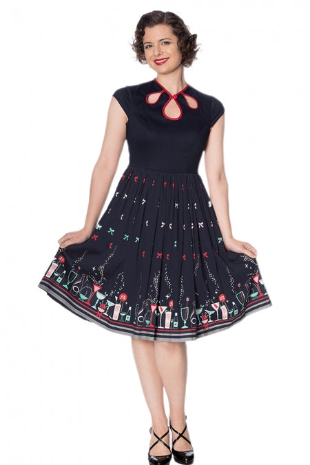 Banned Clothing - Women's Christmas Cocktail Dress