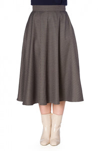 Banned Clothing - Women's Cute Check Mate Skirt