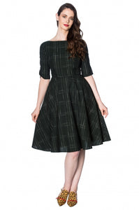 Banned Clothing - Women's Gabrielle Check Dress