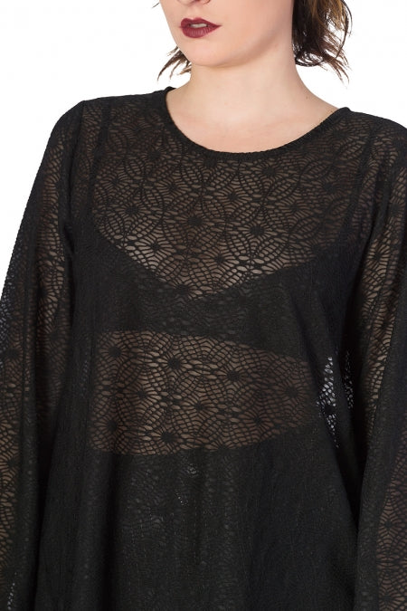 Banned Clothing - Women's Lace Life Tunic