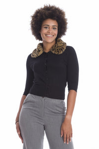 Banned Clothing - Women's Leopard Cardigan