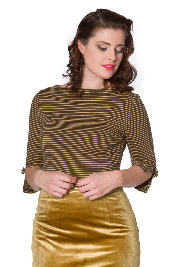 Banned Clothing - Women's Simply Stripe Top