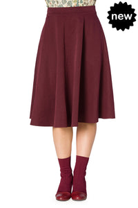 Banned Clothing - Women's Sophicated Lady Swing Skirt