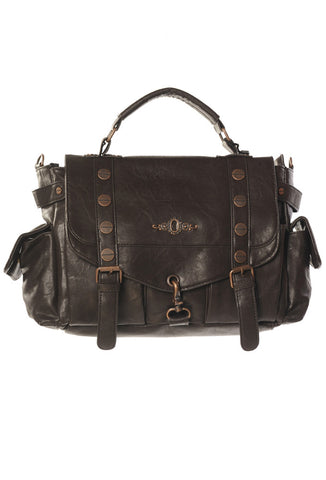 Banned Clothing - Brown Copper Handbag