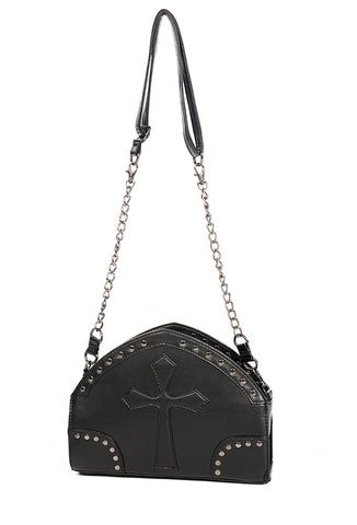 Banned Clothing - Black Cross Shoulder Bag