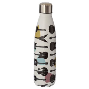 Guitar Headstock Stainless Steel Insulated Drinks Bottle BOT69