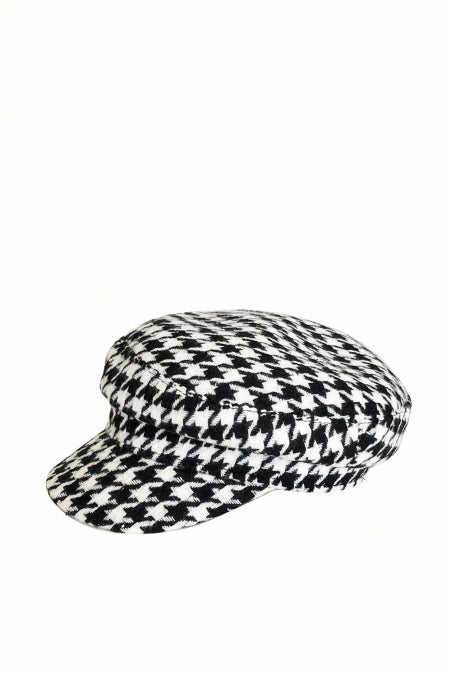 Banned Accessories - Houndstooth Cap