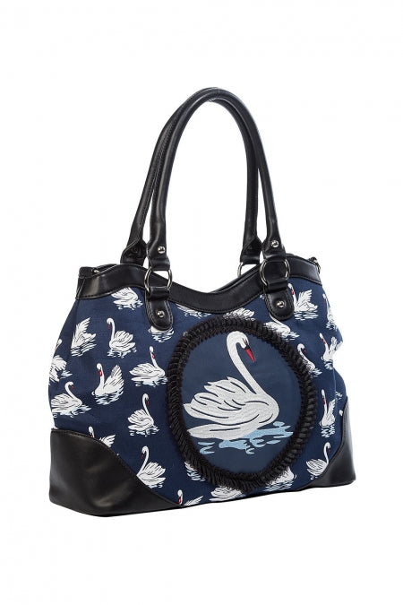 Banned Accessories - Summer Swan Handbag