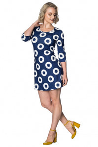 Banned Apparel - 60s Circles Dress