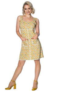 Banned Apparel - 70s Geo Short Dress