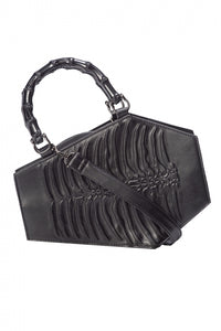 Banned Apparel - Amaranth Emboss Coffin Bag