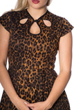 Banned Clothing - Animal Instincts Fit & Flare Dress