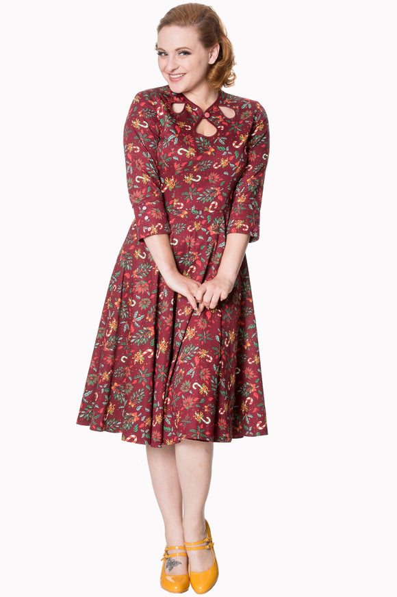 Banned Apparel - Autumn Leaves Dress