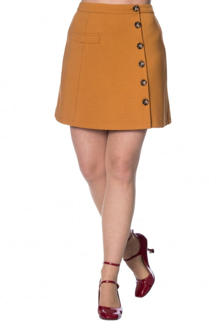Banned Apparel - Beatrice A-Symetric Skirt