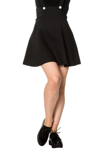 Banned Apparel - Black Magic Skirt