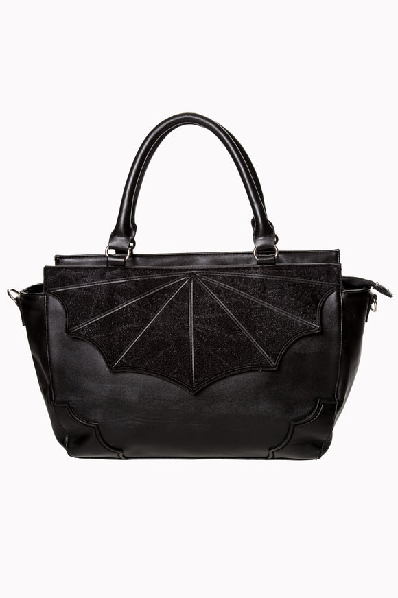 Banned Apparel - Black Widow Bag - Egg n Chips London