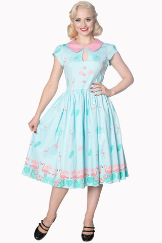 Banned Apparel - Blue Going My Way Dress