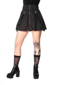 Banned Apparel - Bondage Straps Skirt