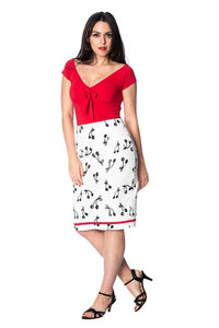 Banned Apparel - Cherry Pop Pencil Skirt