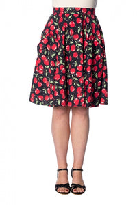 Banned Apparel - Cherry Soda Pocket Skirt