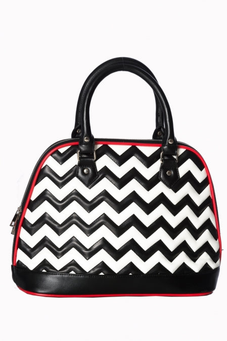 Banned Apparel - Chevron Bag - Egg n Chips London