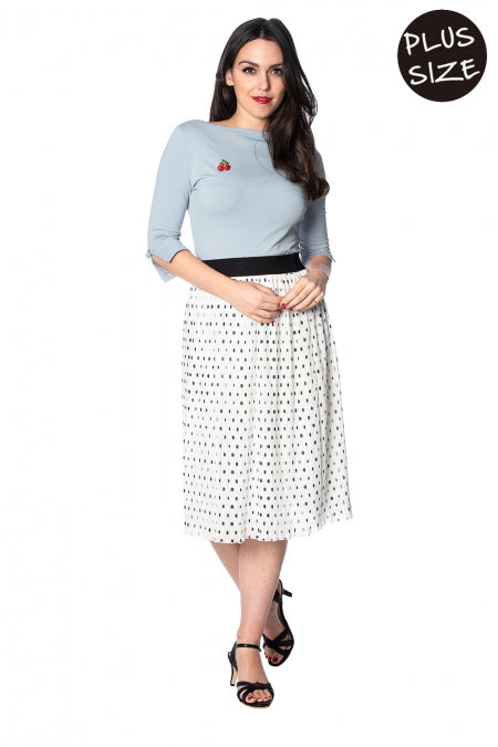 Banned Apparel - Dots About Spots Skirt Plus Size