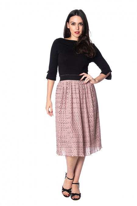 Banned Apparel - Dots About Spots Skirt