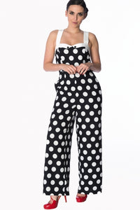 Banned Apparel - Dotty About You Playsuit