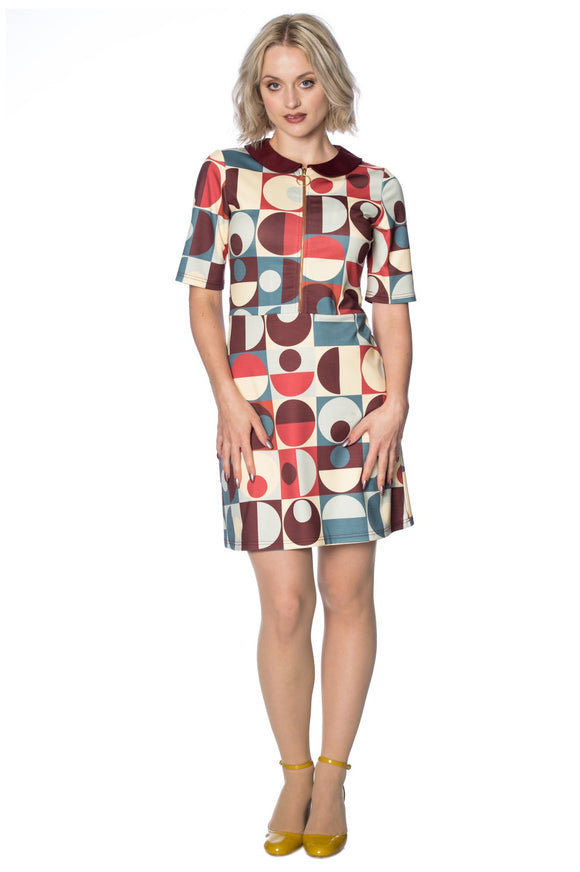 Banned Apparel - Geo Circle Dress