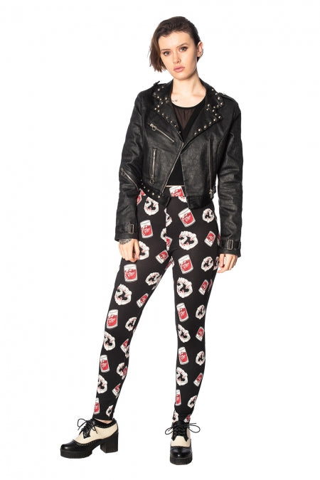 Banned Apparel - Glampire Leggings