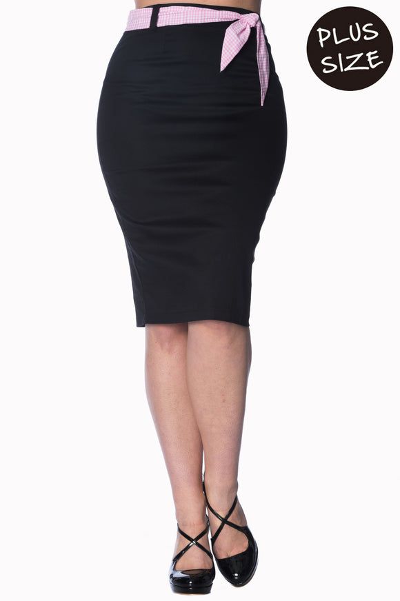 Banned Apparel - Grease Pencil Skirt Plus Size