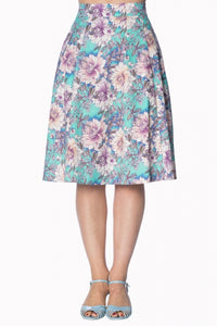 Banned Apparel - Green Marys Garden Skirt