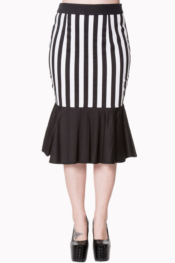 Banned Apparel - Heart To Heart Midi Skirt