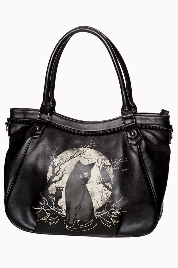 Banned Apparel - Hecate In Full Moon Hand Bag - Egg n Chips London