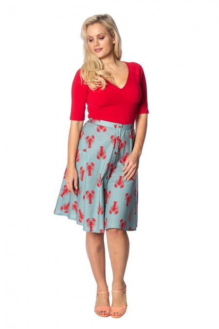 ccb764c44f2 Banned Apparel - Lobster Love Skirt