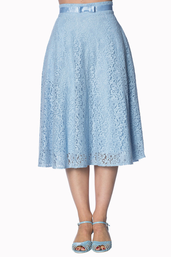 Banned Apparel - Love Lace Skirt - Egg n Chips London