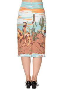 Banned Apparel - Magical Day Pencil Skirt - Egg n Chips London