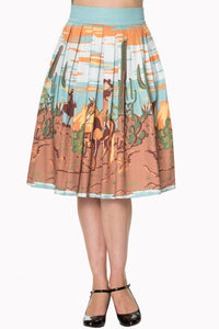 Banned Apparel - Magical Day Skirt - Egg n Chips London
